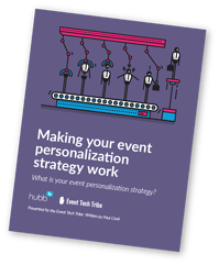 Making your event personalization strategy work