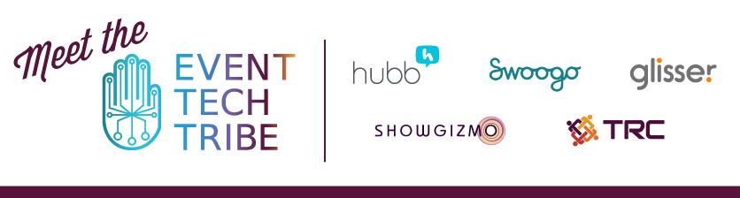 Event Tech Tribe Hubb Swoogo Glisser ShowGizmo TRC