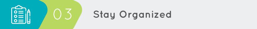 Keep an organized expense sheet