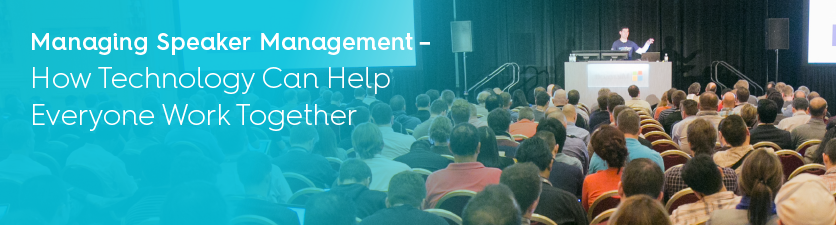 Speaker management tips for conference success