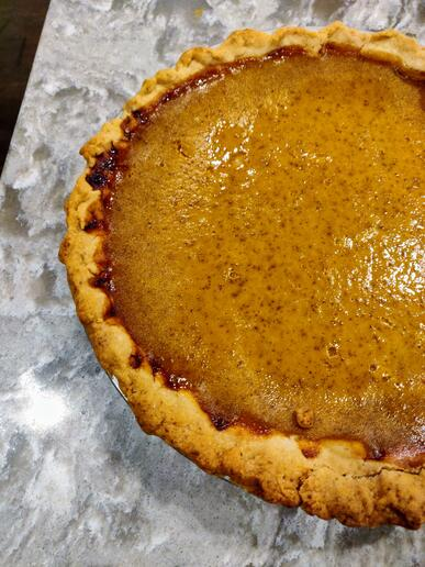 Kelleys Pumpkin Pie