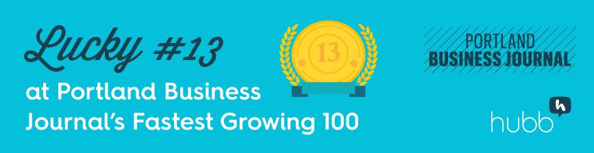 Portland Business Journal Fastest Growing 100