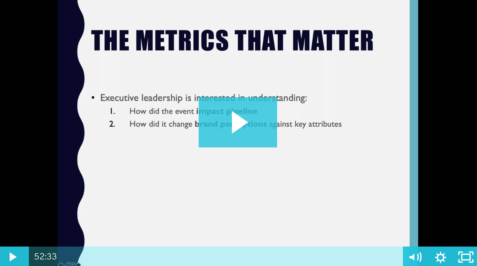 Measure What Actually Matters for Your Event