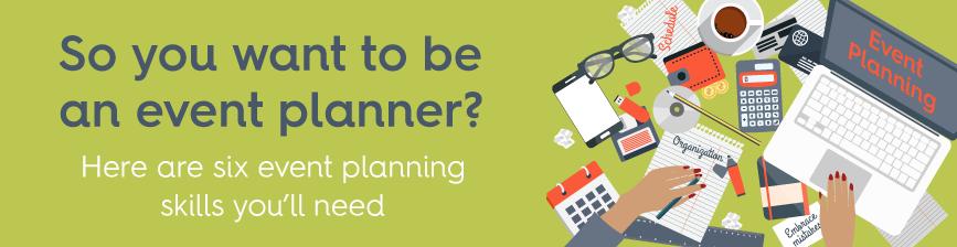 event planner skills blog