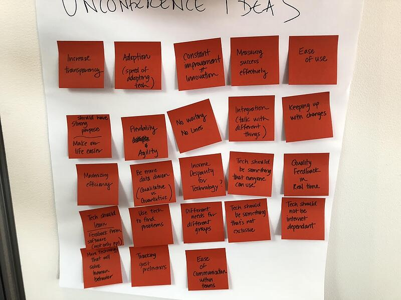 unconference topics