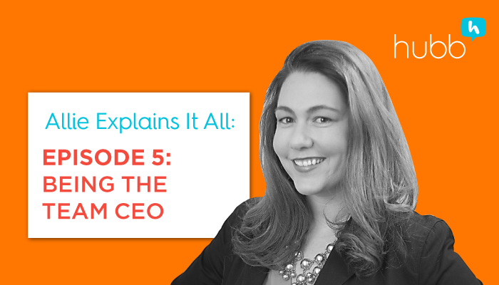Allie Explains It All, Episode 5: Being the Event Team CEO