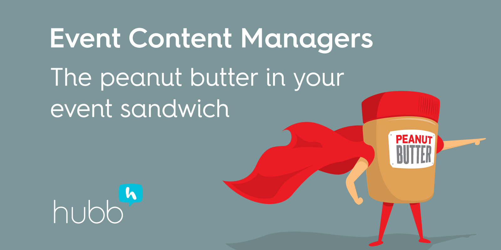 Who is an event content manager? The peanut butter in your event sandwich