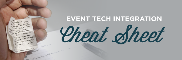EventTechIntegrationCheatSheet-Email
