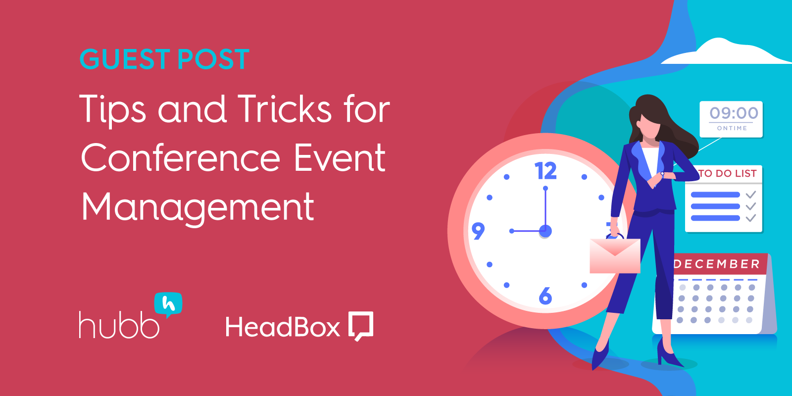 Tips and tricks for conference event management