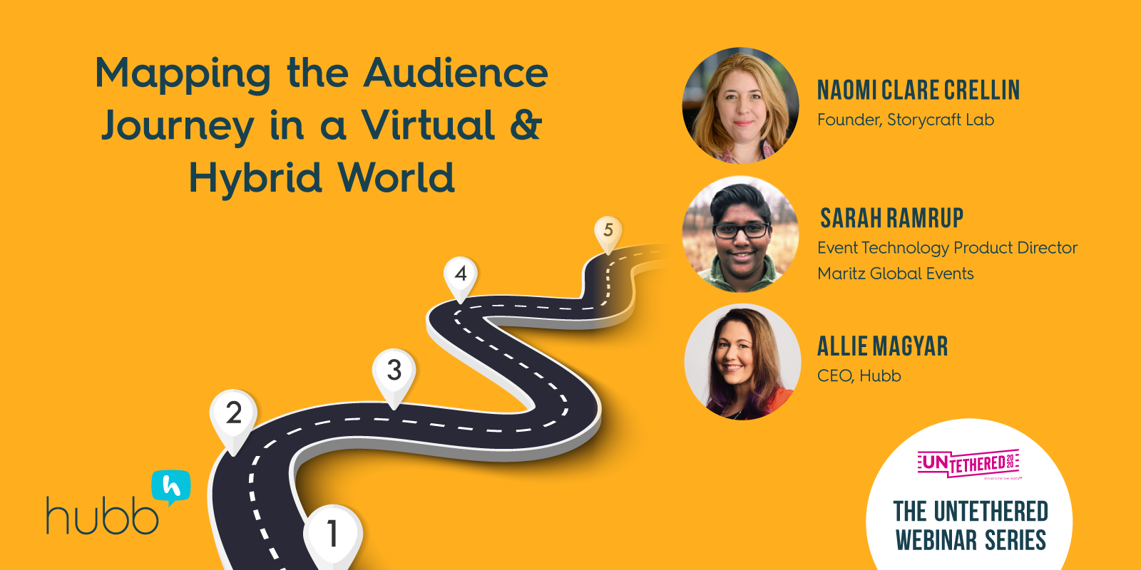 Mapping the Audience Journey in a Virtual & Hybrid World Webinar