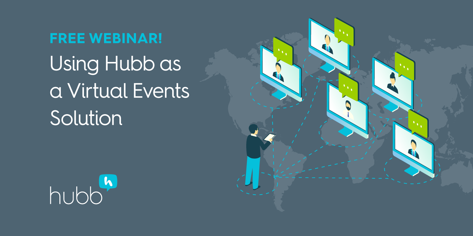 Virtual Events With Hubb