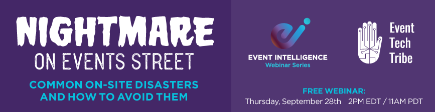 Nightmare on Events Street Webinar: Slides and Recording