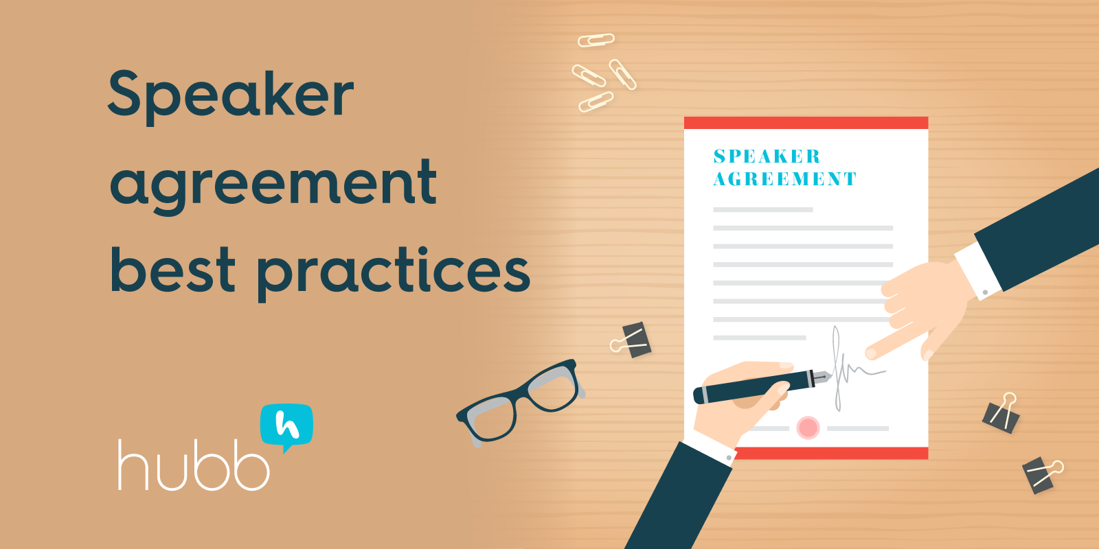 How to create effective speaker agreements
