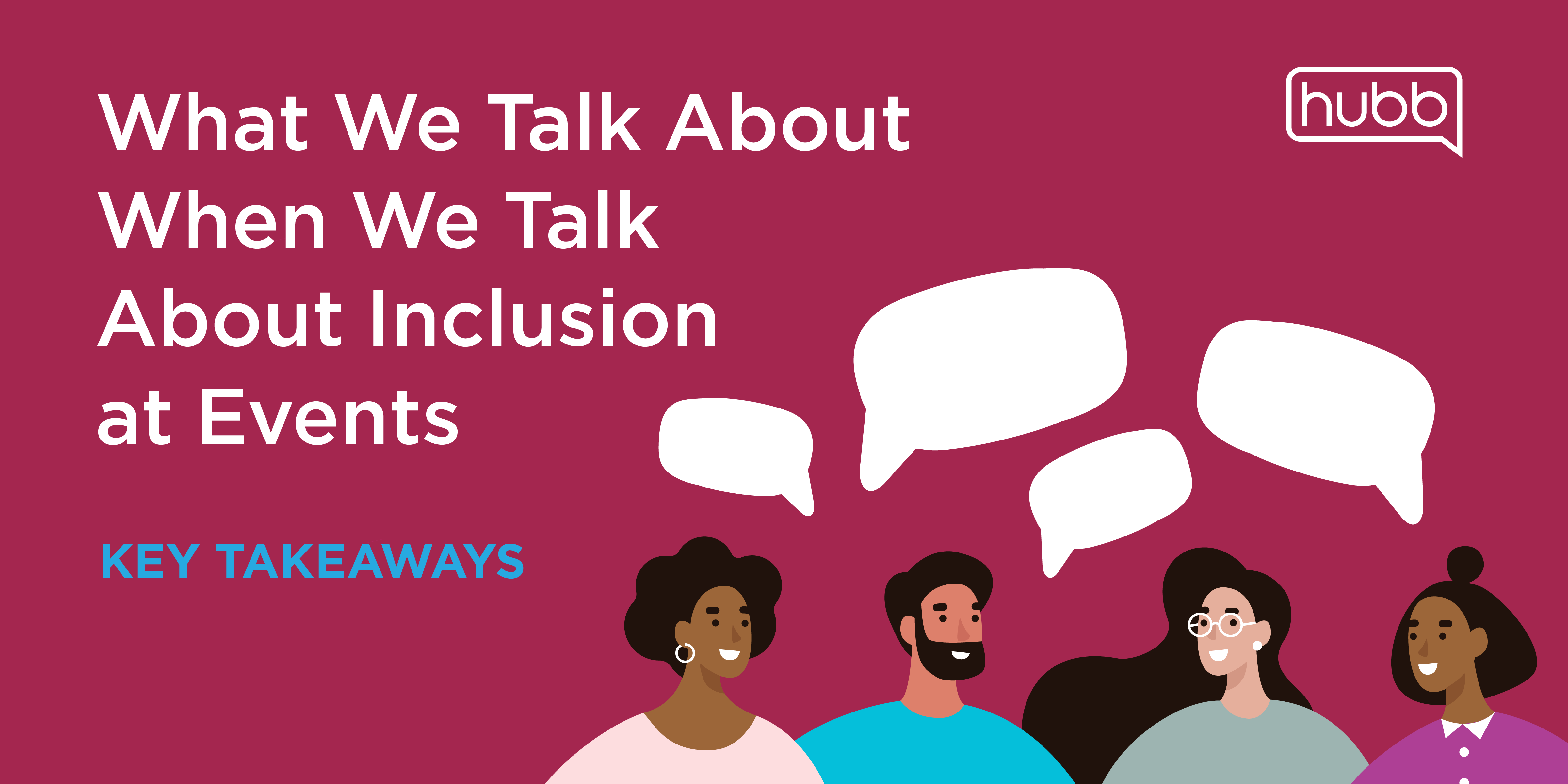 Key Takeaways From Our Webinar on Inclusion at Events