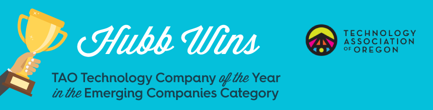 Hubb Wins TAO Emerging Technology Company of the Year Award