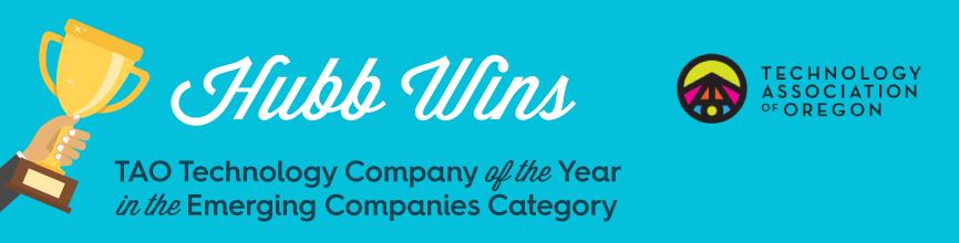 Hubb Wins TAO Emerging Technology Company of the Year Award