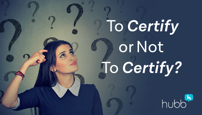To Certify or Not To Certify: What Certifications Are Worthwhile for Event Profs?